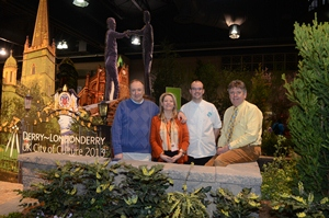 NORTHERN IRELAND FOOD AND FLOWERS SERVED UP IN PHILADELPHIA