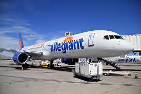allegiant aeroplane