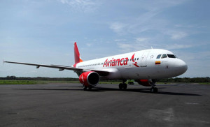 avianca airplane