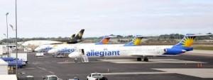 allegiant aircrafts