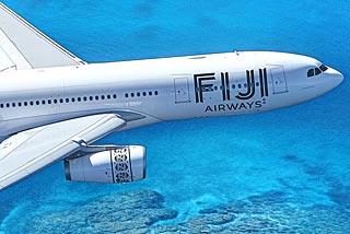 Fiji Airways plane.