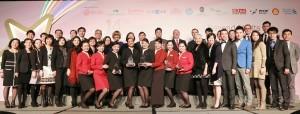 The Cathay Pacific winning teams at HKACE