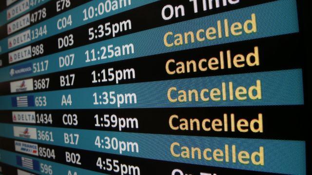 """Képtalálat a következőre: """"cancelled flights"""""""