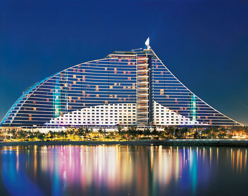 Jumeirah beach hotel archives travelandtourworld for Dubai beach hotels