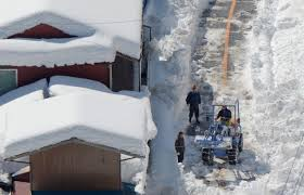 Record snowfall in Japan causes several death and injuries