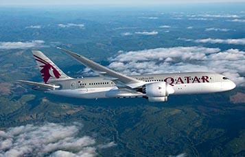 Qatar Airways' Boeing 787 Dreamliner