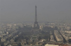 atmospheric hazard in Paris