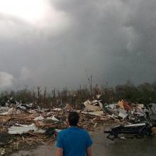 Tornado in Central United States