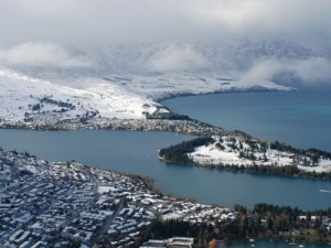 Queenstown transforms into a winter