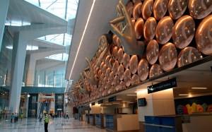 Indira Gandhi International Airport in New Delhi