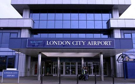 london city airport: