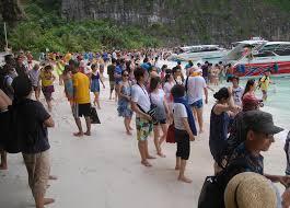 Southeast Asian beach tourism