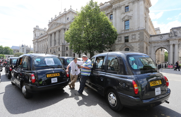 Uber Taxi ban in Germany makes London cabbies re-launch ...