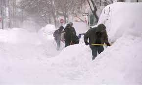 Flood conditions may arise with melting snow and rain in north-east US
