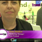 Nina Hilden in an exclusive interview at ITB Asia in Singapore