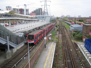Custom House for ExCeL DLR station reopened in London