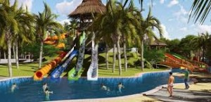 The first water park