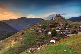 Tusheti mountain village