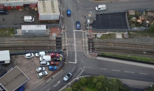 bloxwich-level-crossing-aerial-view