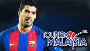 Tourism Malaysia signs Luis Suarez