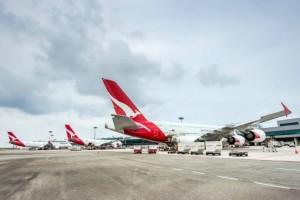 Changi Airport, Singapore Tourism Board and Qantas