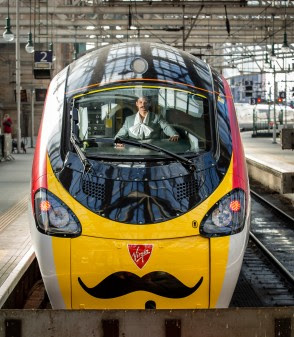 Virgin Trains names train after Scottish cultural icon