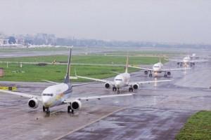 Mumbai International Airport Runway