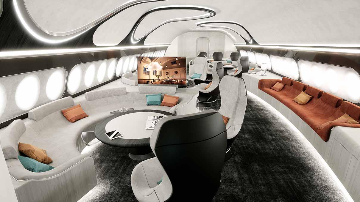 Αποτέλεσμα εικόνας για ACJ debuts Harmony cabin
