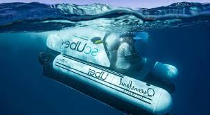scUBer, world's first rideshare submarine by UBER - Travel And Tour