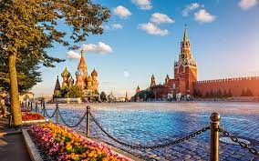 visitors about restrictions on Russia