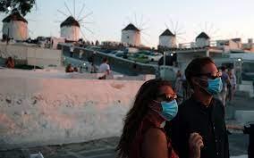 Greek unvaccinated tourism staff